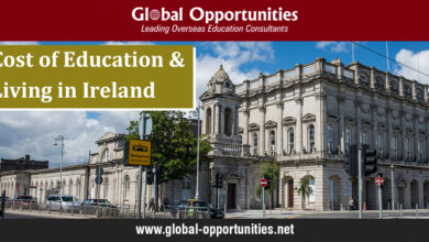 Photo of Cost of Education and Living in Ireland