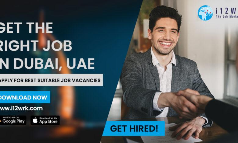 Best New Job In Dubai and UAE