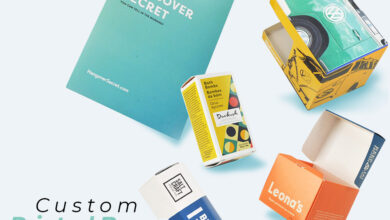 Photo of 5 TIPS TO GIVE YOUR BRAND A CLASSIC LOOK VIA CUSTOM PRINTED BOXES