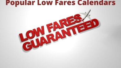 Photo of Popular Airlines Low Fare Calendars Deals 2021