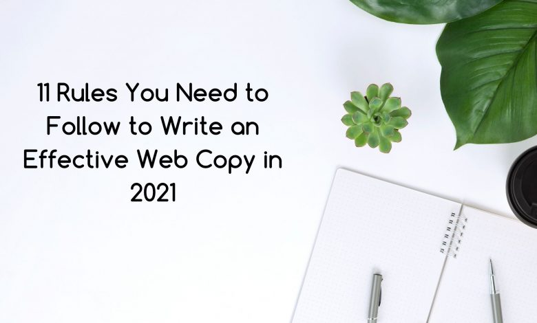Web Copy in 2021