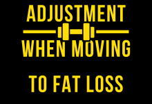 Photo of Workout adjustments when moving to fat loss