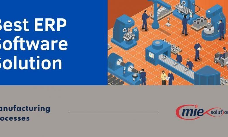Best ERP Software Solution