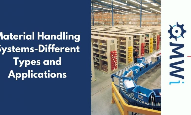 Material Handling Systems-Different Types and Applications