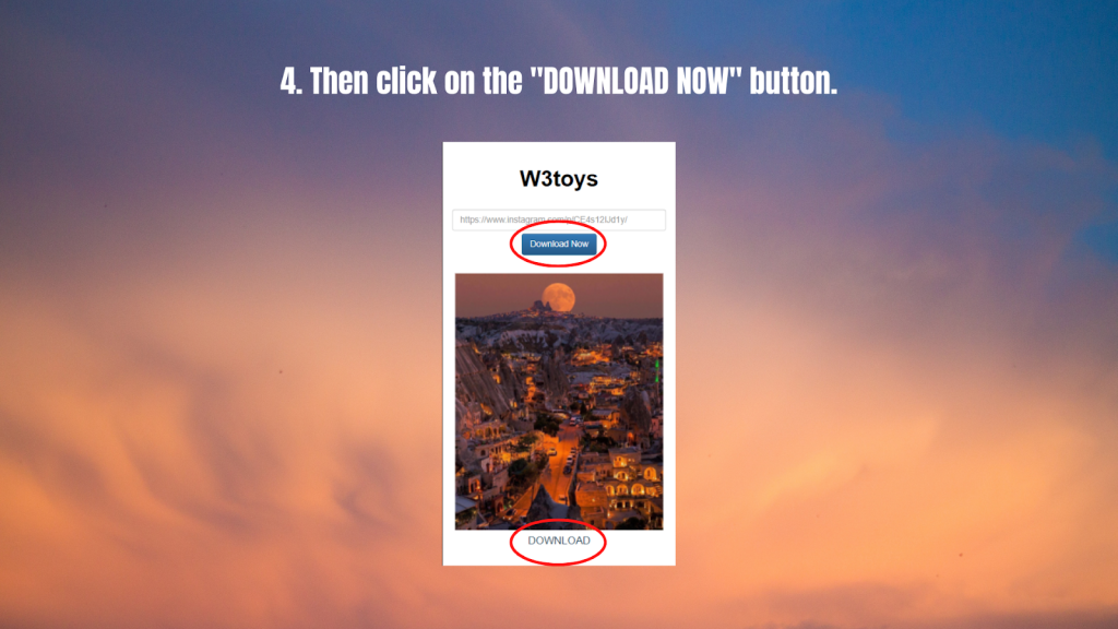 W3toys- download button