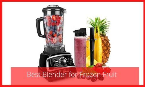 Best Blender for Frozen Fruit