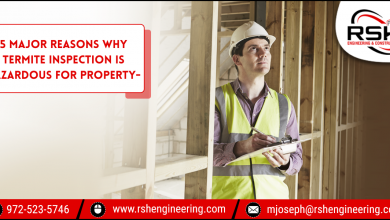 Photo of 5 Major Reasons Why Termite Inspection Is Hazardous For Property