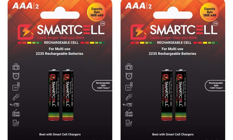 Smartcell AAA battery