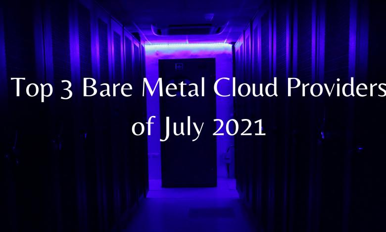 Bare metal server providers
