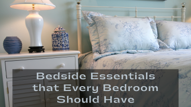 Photo of Bedside Essentials that Every Bedroom Should Have