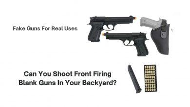 Photo of Can You Shoot Front Firing Blank Guns In Your Backyard?