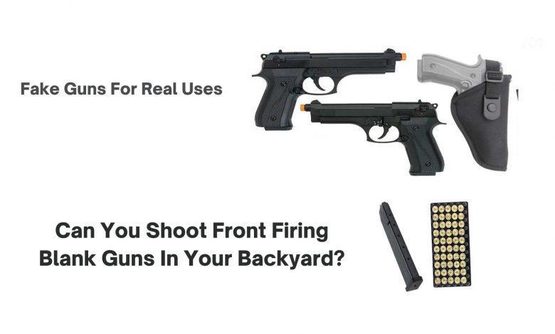 Front Firing Blank Guns