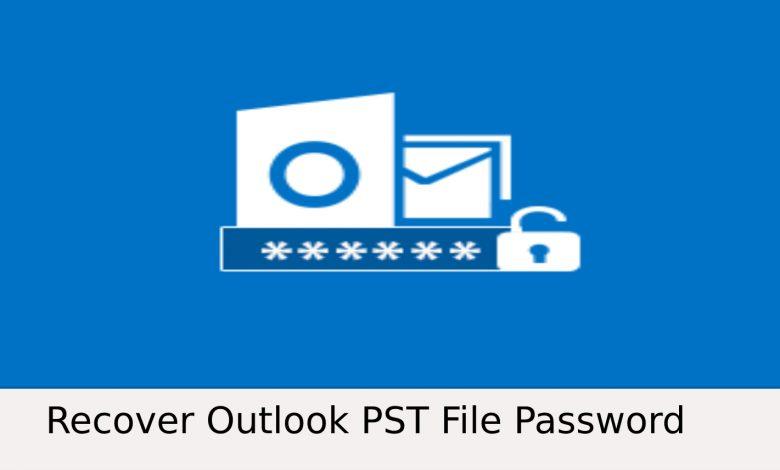 Forgot Outlook PST Password