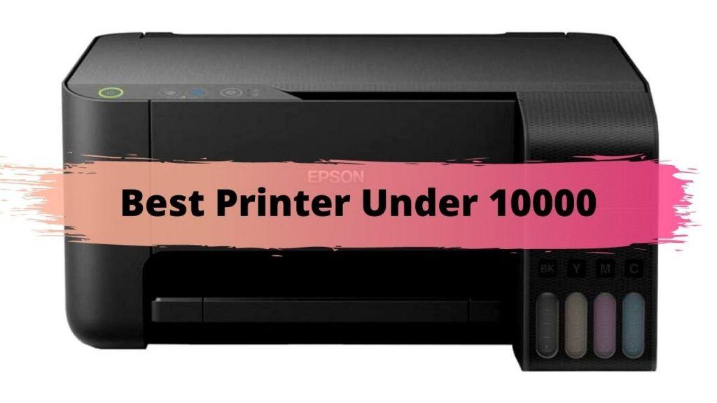 Wireless Ink tank printer under 10000