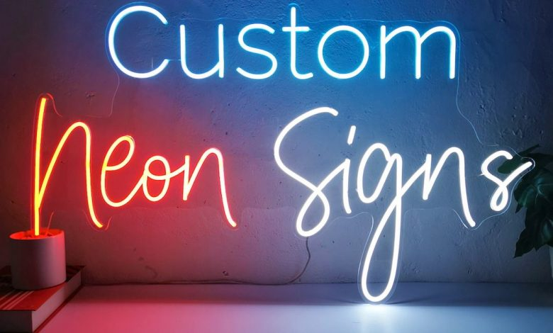 Custom Neon Signs ideas for Business