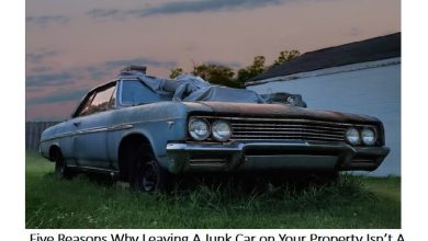 Photo of Five Reasons Why Leaving A Junk Car on Your Property Isn't A Good Idea