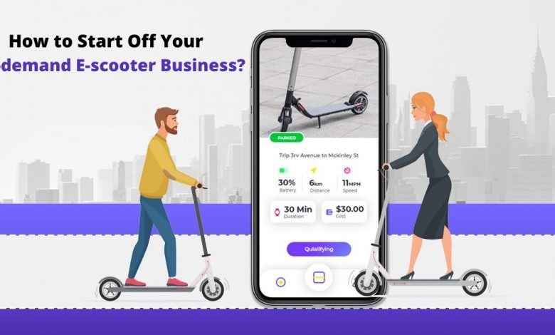 How to Start Off your On-demand E-scooter Services Business