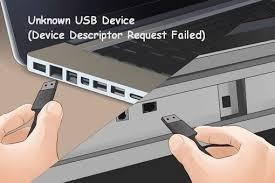 Unknown USB Device Descriptor Request