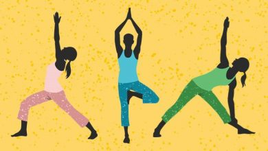 Photo of Five Major Yoga Postures
